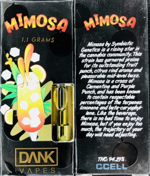 DANK VAPES: Mimosa | Cannabis Menus By CaliCartConnect